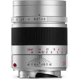 Leica 11685 Summarit-M 90mm/f2.4x Telephoto Lens, Silver