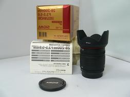 Sigma 28-200mm f3.5-5.6 Compact Hyperzoom Macro Lens for Pen