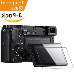 Glass Screen Protector Compatible Sony Alpha A6000 A5000 A63