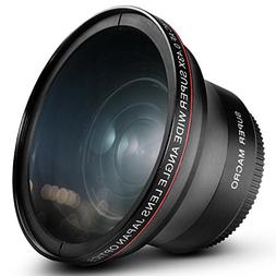 58MM 0.43x Altura Photo Professional HD Wide Angle Lens  for