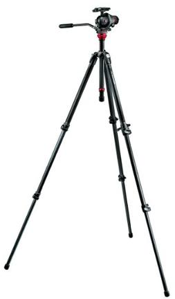 Manfrotto 755CX3-M8Q5 Tripod Kit with Photo Movie Head and C
