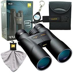 Nikon 7572 PROSTAFF 5 10X50mm Binocular Bundle with Nikon Mi
