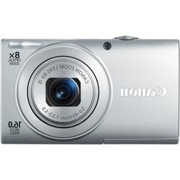 Canon PowerShot A4000IS 16.0 MP Digital Camera with 8x Optic