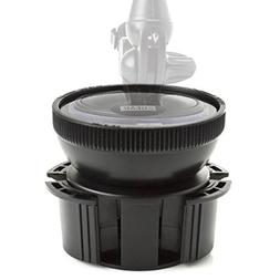 Cup Holder Suction Mount Surface Adapter by USA Gear – Adj