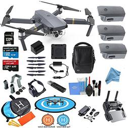 DJI Mavic PRO Drone Quadcopter Flymore ALL YOU NEED & MORE C