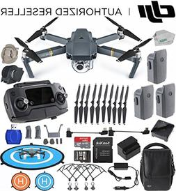 DJI Mavic Pro FLY MORE COMBO Collapsible Drone EVERYTHING YO