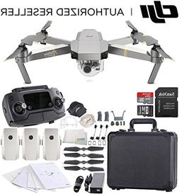 DJI Mavic Pro Platinum Collapsible Quadcopter Black Aluminum