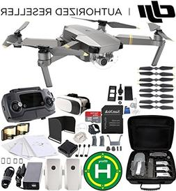 DJI Mavic Pro Platinum Collapsible Quadcopter EVERYTHING YOU