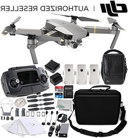 DJI Mavic Pro Platinum FLY MORE COMBO Collapsible Quadcopter