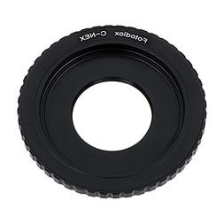 Fotodiox Lens Mount Adapter - C-Mount CCTV/Cine Lens to Sony