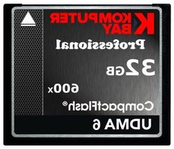 KOMPUTERBAY 32GB Professional COMPACT FLASH CARD CF 600X 90M