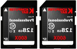 Komputerbay 2 PACK - 128GB SDXC Secure Digital Extended Capa