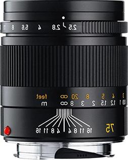 Leica SUMMARIT-M 75mm f/2.5  Ultra Compact Short Telephoto L