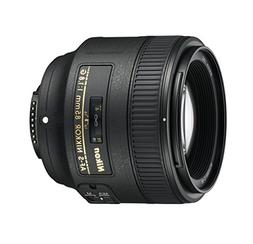 Nikon AF S NIKKOR 85mm f/1.8G Fixed Lens with Auto Focus for
