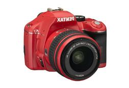 Pentax K-x 12.4MP Digital SLR with 2.7 inch LCD and 18-55mm