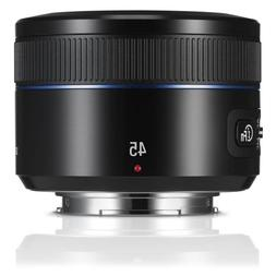 Samsung NX 45mm f/1.8 Camera Lens