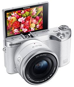 Samsung - Nx500 Mirrorless Camera With 16-50mm Lens - White