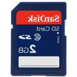 SanDisk 2 GB Class 2 SD Flash Memory Card SDSDB-2048-A11