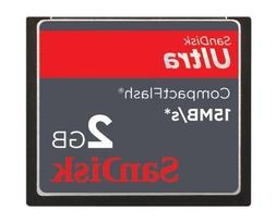 SanDisk Ultra Compact Flash 2GB Card