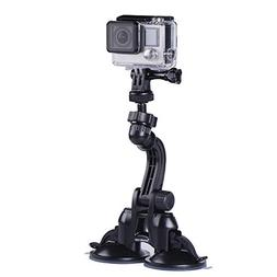 Smatree Double Suction Cup Mount with Greater Suction Power