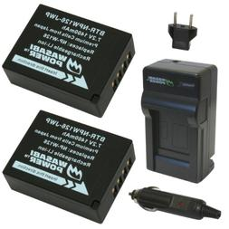 Wasabi Power Battery  and Charger for Fujifilm NP-W126 and F