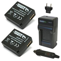 Wasabi Power Battery  and Charger for Leica BP-DC15 and Leic