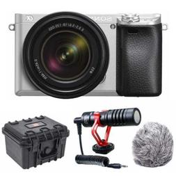 a6300 mirrorless camera with 18 135mm lens