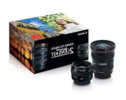 Canon Advanced Two Lens Kit with 50mm f/1.4 and 17-40mm f/4L