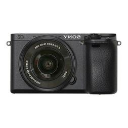 Sony Alpha 6300 24.2 Megapixel Mirrorless Camera with Lens -