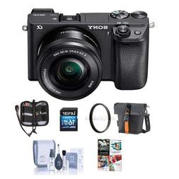 Sony Alpha a6300 Mirrorless Digital Camera Body Black with 1