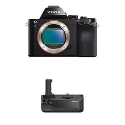 Sony Alpha a7S Mirrorless Digital Camera with Battery Grip