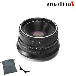 7artisans 25mm F1.8 APS-C Frame Manual Focus Prime Fixed Len