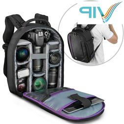 Camera Backpack Bag Case for Canon Nikon Sony DSLR & Mirrorl