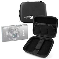 DURAGADGET Black Hard Shell EVA Box-Style Case for the NEW C