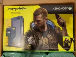 Brand New Xbox One X Cyberpunk 2077 Limited Edition 1TB Cons