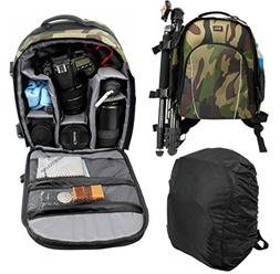 DURAGADGET Camouflage Water-Resistant Rucksack/Backpack with