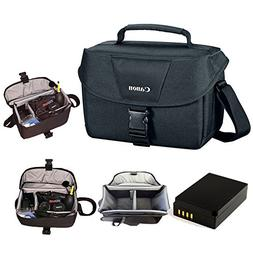 Canon 100ES Soft Padded Compact Multi Compartment SLR Digita