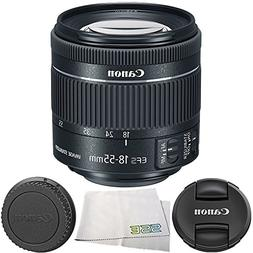 Canon EF-S 18-55mm f/4-5.6 IS STM Lens 4PC Bundle – Includ