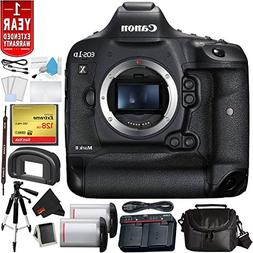 Canon EOS-1D X Mark II DSLR Camera  Bundle with 128GB Compac