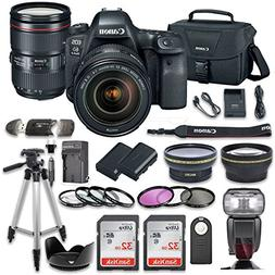 Canon EOS 6D MARK II DSLR Camera Bundle with Canon EF 24-10