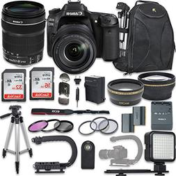 Canon EOS 80D DSLR Camera with Canon EF-S 18-135mm f/3.5-5.6