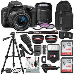 Canon EOS Rebel SL2 DSLR Wi-Fi Camera with EF-S 18-55mm STM