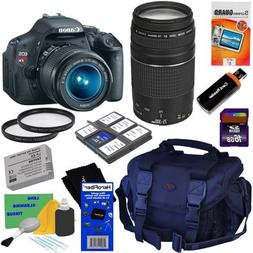 Canon EOS Rebel T3i 18 MP CMOS Digital SLR Camera with EF-S