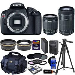 Canon EOS Rebel T5 DSLR Camera with 18-55mm IS II & 55-250mm