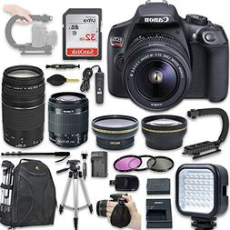 Canon EOS Rebel T6 DSLR Camera with Canon EF-S 18-55mm f/3.5