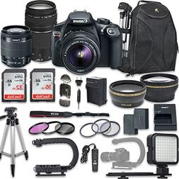 Canon EOS Rebel T6 Video Digital SLR Camera Kit with EF-S 18