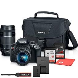 Canon EOS Rebel T6 Digital SLR Camera with 18-55mm EF-S f/3.