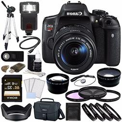 Canon EOS Rebel T6i Digital SLR Camera Kit with 18-55mm Lens