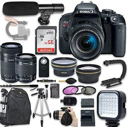 Canon EOS Rebel T7i DSLR Camera with EF-S 18-55mm f/4-5.6 IS