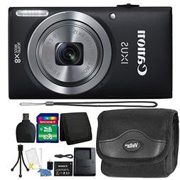 Canon IXUS 185 / ELPH 180 20MP Full HD Video Black Digital C